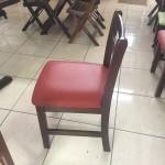 Cadeira Fixa Floripa Almofadada com Assento Verde